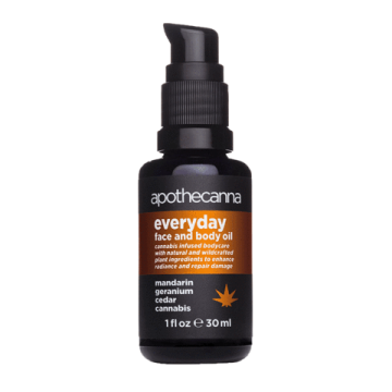 Apothecanna's Everyday Face and Body Oil
