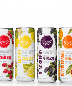Wyld CBD Sparkling Water – Assorted Pack
