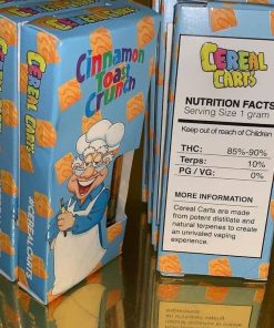 You have visited the right source to buy the same, which are in high demand in cannabis markets. Buy Cereal Carts Online. Buy marijuana online.