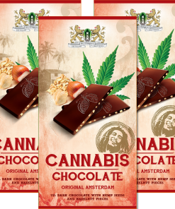 Cannabis Chocolate Dark dark chocolate bars weeds